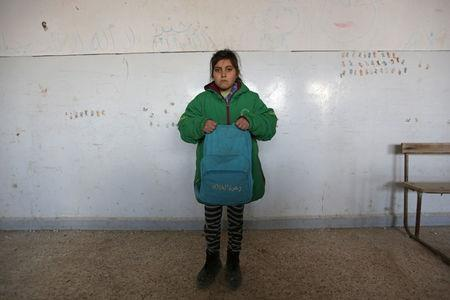 Syrian child refugees struggle to get an education: U.N.