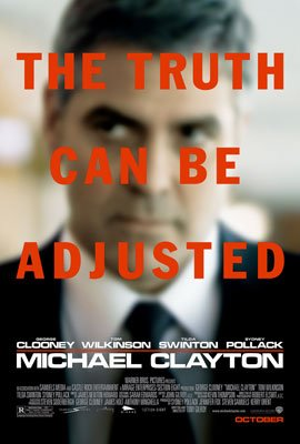 George Clooney stars in Warner Bros. Pictures' Michael Clayton