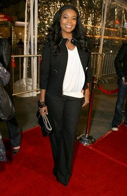 Gabrielle Union at the Los Angeles premiere of DreamWorks Pictures' Norbit