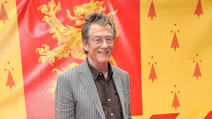 Harry Potter and the Half Blood Prince UK Premiere 2009 John Hurt