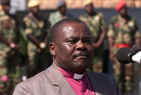 FILE PHOTO OF ZIMBABWEAN ANGLICAN BISHOP KUNONGA.