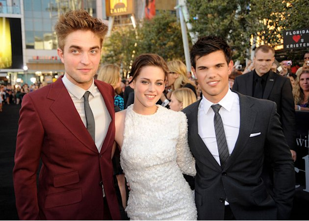 The Twilight Saga Eclipse LA Premiere 2010 Robert Pattinson Kristen Stewart Taylor Lautner
