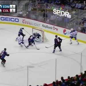 Semyon Varlamov Save on Ryan Nugent-Hopkins (17:45/1st)