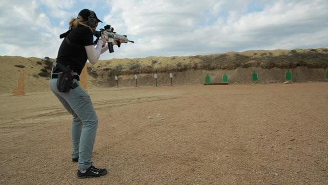 More Women Are Giving Guns, Shooting Clubs a Shot