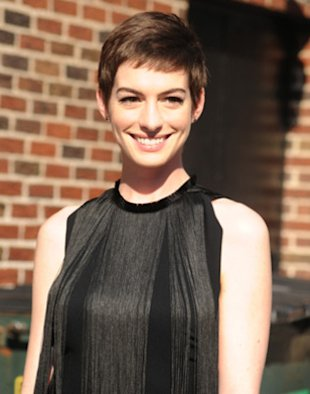 Beauty Crush: Anne Hathaway Channels Audrey Hepburn