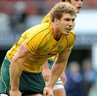 Sam Warburton says David Pocock (pictured) will be Australia's biggest threat against Wales