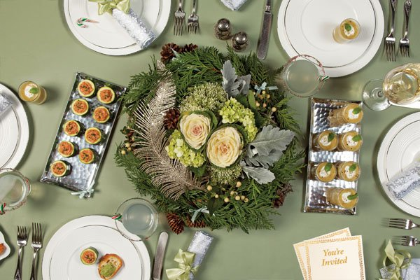 How to throw a festive holiday bash without breaking the bank. (Photo by Reena Newman)