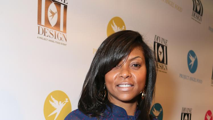 Taraji Henson seen at the Opening Night Of Project Angel Food's Divine Design 2013, on Thursday, Dec. 5, 2013 in Los Angeles. (Photo by Alexandra Wyman/Invision for Project Angel Food/AP Images)