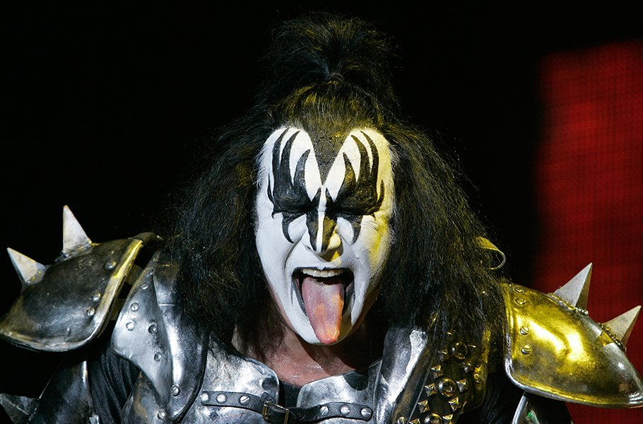 Gene Simmons & KISS performing at Wembley Arena in 2010