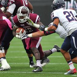 Fordham's Edmonds wins Patriot League Rockin' Refuel® Performance