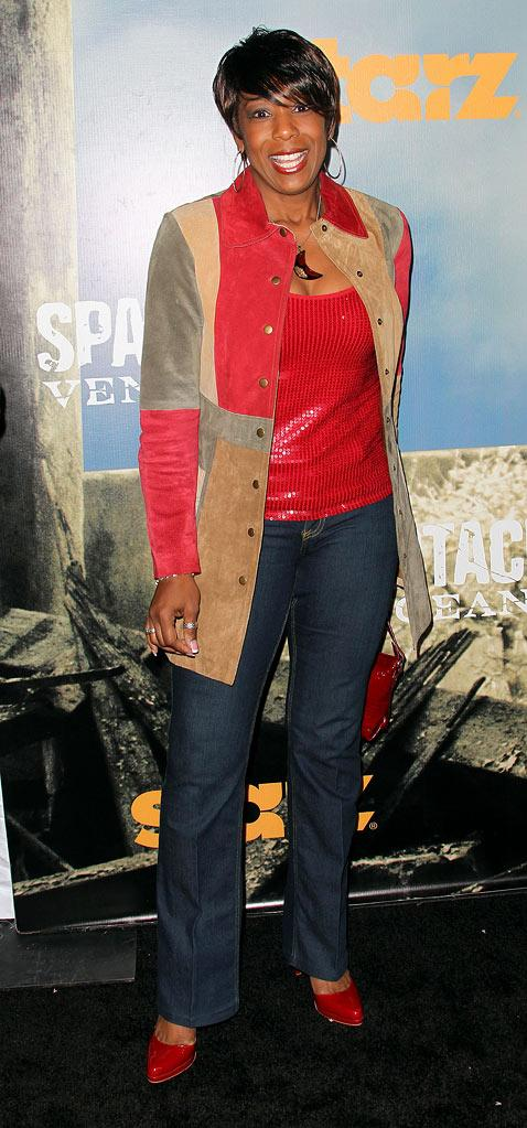 "Dawn Lewis attends the Starz Original Series ""Spartacus: Vengeance"" Premiere Event at ArcLight Cinemas Cinerama Dome on January 18, 2012 in Hollywood, California."