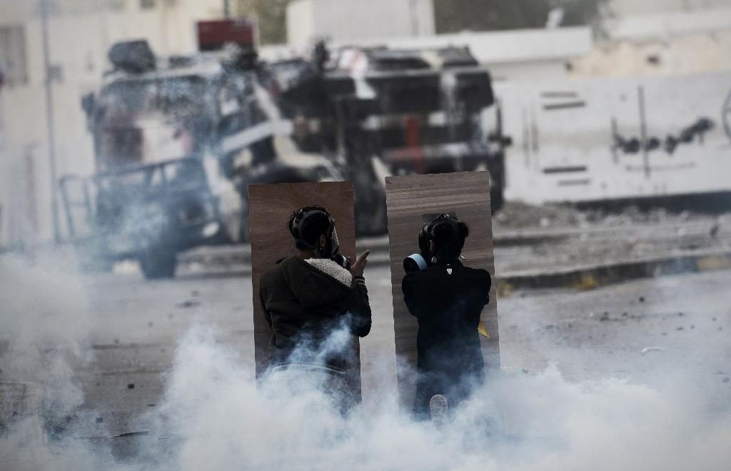 Building torched as Bahrain Shiites protest executions
