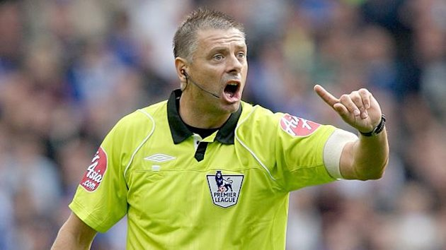 FOOTBALL Premier League referee Mark Halsey