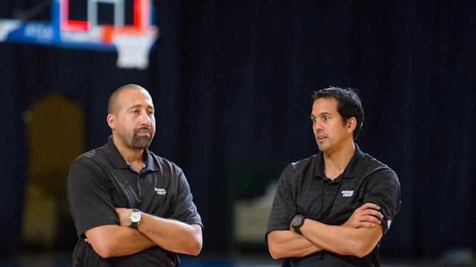 Heat's Spoelstra not letting success change him