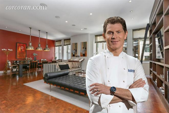 Bobby Flay Wants Out of His Chelsea Duplex for $8M