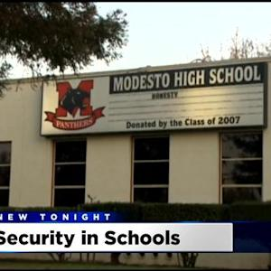 Modesto City Schools Replacing Cut School Resource Officers With Security Guards