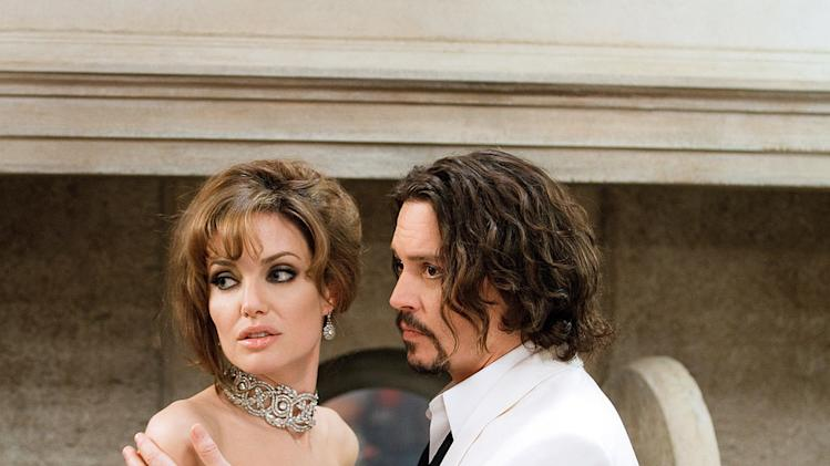 The Tourist Columbia Pictures 2011 Angelina Jolie Johnny Depp