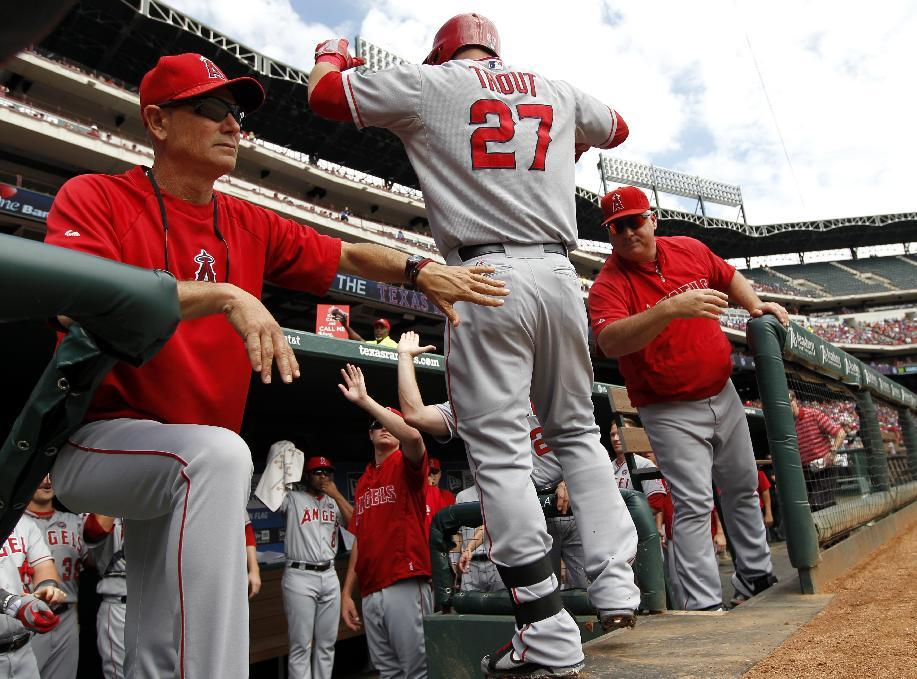 Trout shines in another dismal season for Angels