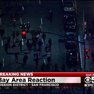 Protests In Oakland, San Francisco In Wake Of Ferguson Decision