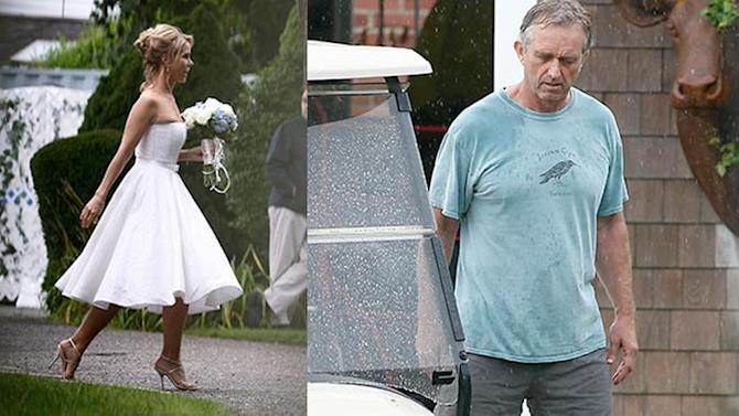 RFK Jr., actress Hines wed at Kennedy compound
