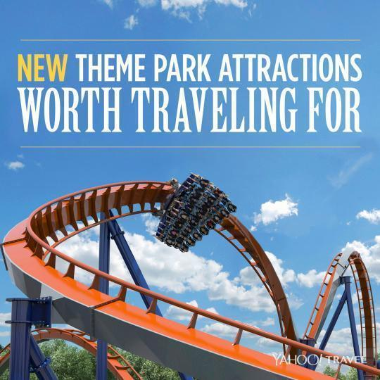 New Theme Park Attractions Worth Traveling For