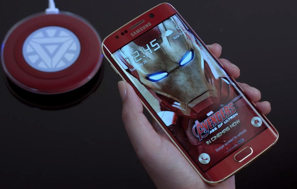 Watch the official Galaxy S6 edge 'Iron Man Edition' unboxing video