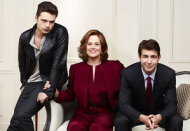 Sebastian Stan, Sigourney Weaver, James Wolk | Photo Credits: Andrew Eccles/USA Network