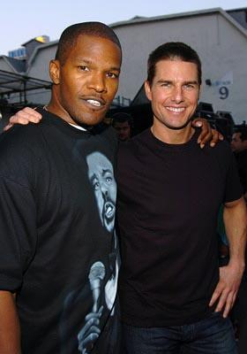 Jamie Foxx and Tom Cruise MTV Movie Awards - 6/5/2004
