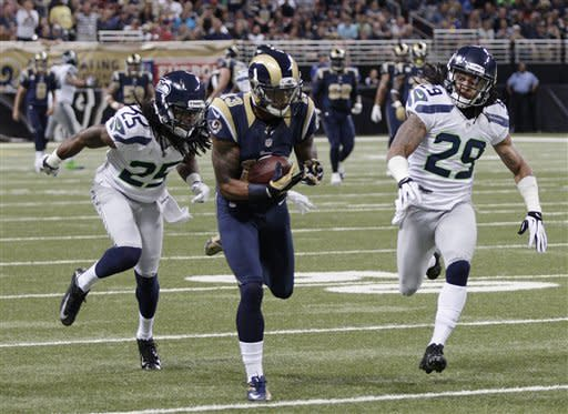 Zuerlein kicks lead Rams over Seahawks 19-13
