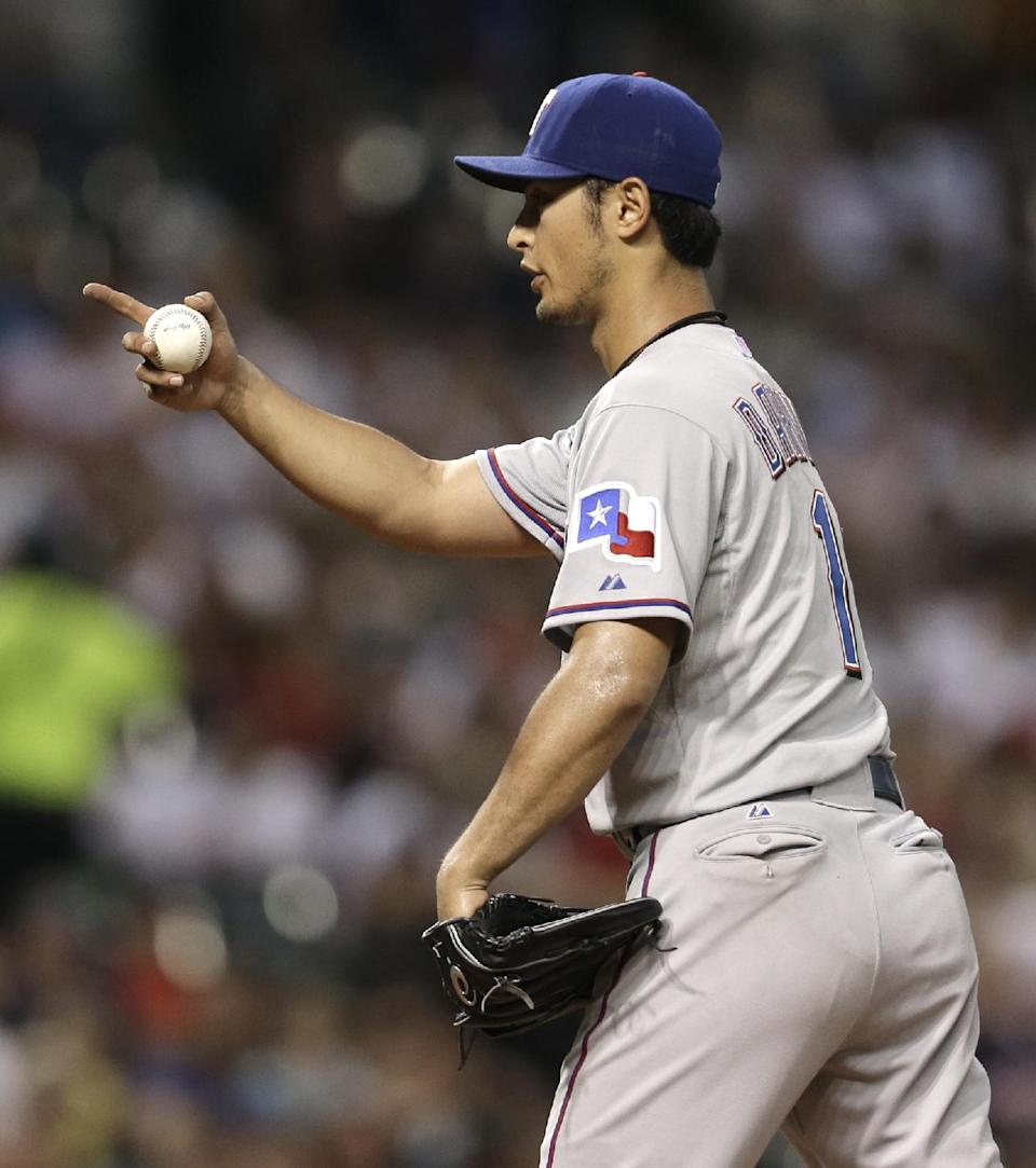 Masterson outduels Darvish in Indians' 1-0 win