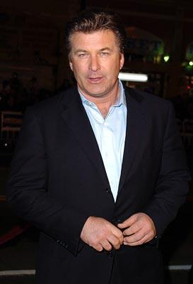 Premiere: Alec Baldwin at the LA premiere of Universal's Along Came Polly - 1/12/2004