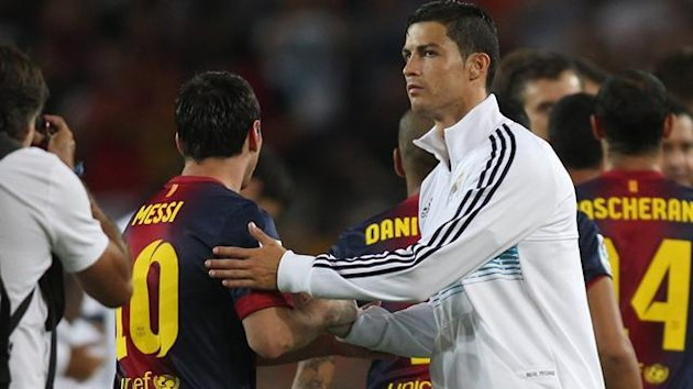 FOOTBALL 2012 Barcelona-Real Madrid (Messi et Cristiano Ronaldo)