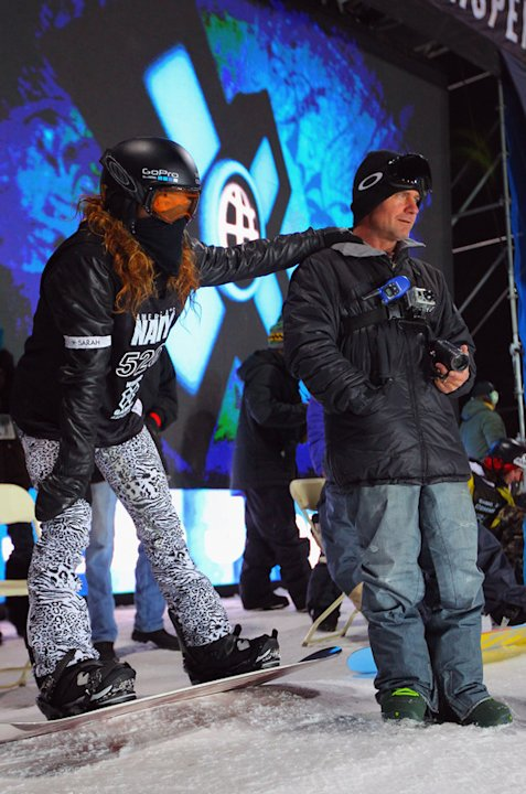 Shaun White Pauses Getty Images