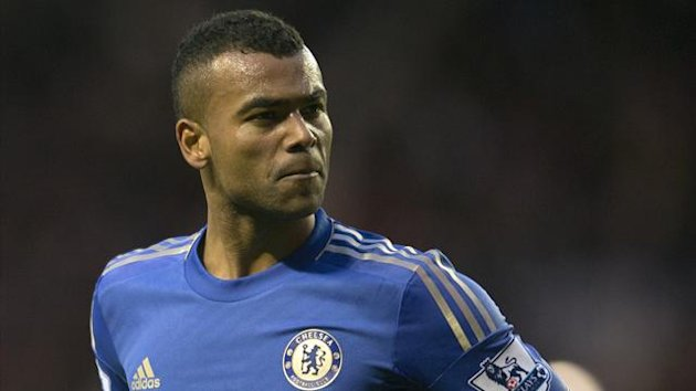 Chelsea left-back Ashley Cole