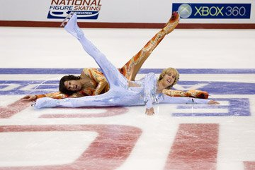 Jon Heder and Will Ferrell in DreamWorks Pictures' Blades of Glory