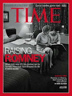 Time's Latest Mother-Boy Cover: Romney and His Mommy