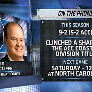 David Cutcliffe on North Carolina match-up