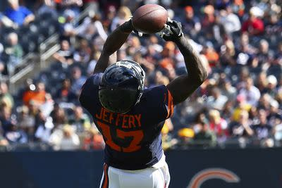 Alshon Jeffery officially inactive, fantasy owners should adjust lineups for Week 4