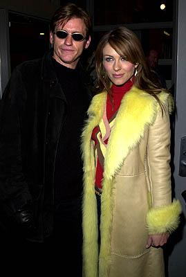 Denis Leary and Elizabeth Hurley of Double Whammy Sundance Film Festival Day 3 Park City, Utah 1/20/2001