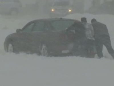 Raw: Spring Snow Socks Upper Midwest