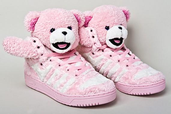 Jeremy Scott for Adidas Originals Teddy Bear sneakers