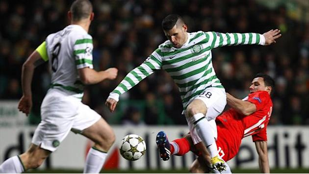 Champions League - Celtic glory as win over Spartak seals last 16 spot