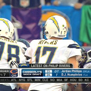 What will San Diego Chargers do with quarterback Philip Rivers?
