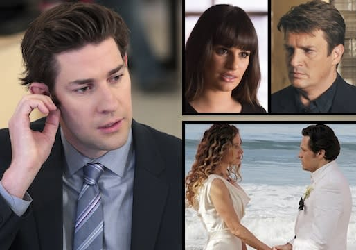 Was Castle's Gift Belated? Paternity Puzzle on Glee? Too Much Office Angst? And More TV Qs!
