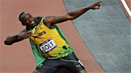 Le Jamacain Usain Bolt et la Britannique Jessica Ennis ont t nomms sportifs masculin et fminin du monde au cours de la dernire anne, lundi, lors du gala des Prix Laureus 2012  Rio de Janeiro