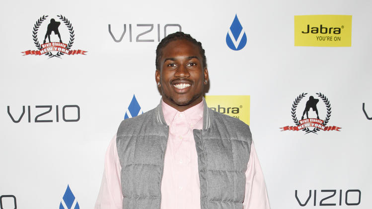 Cordarrelle Patterson is seen at DSA Media Group's Official Professional Football Draft Classic Extravaganza on Tuesday, April 23, 2013 in New York City, New York. (Amy Sussman / AP Images for DSA Media Group)
