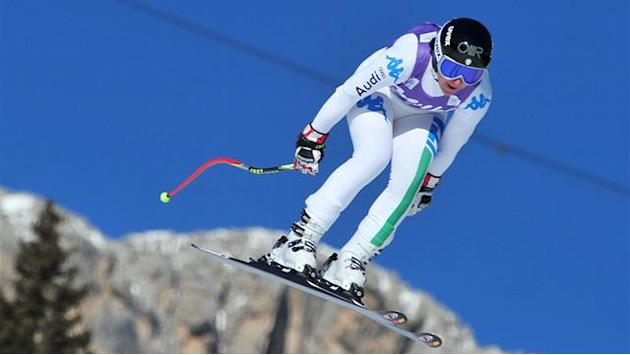 Alpine Skiing - Merighetti fastest in training