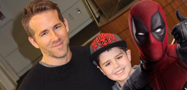 Young Cancer Patient Was First To See Deadpool Movie With Ryan Reynolds
