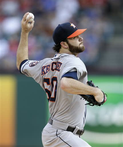 New All-Star Castro homers, Astros top Rangers 9-5