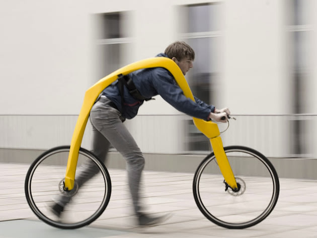 > Pedal-free Bicycle Unvieled - Photo posted in Wild videos, news, and other media | Sign in and leave a comment below!